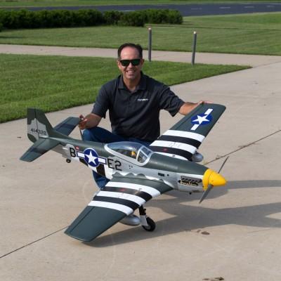 Hangar 9 P-51D Mustang 20cc