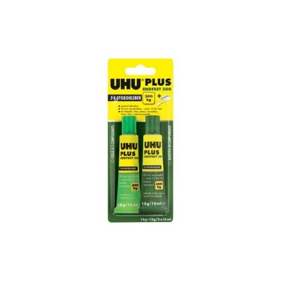 UHU - PLUS 15+15 ml colla epoxi 90 min