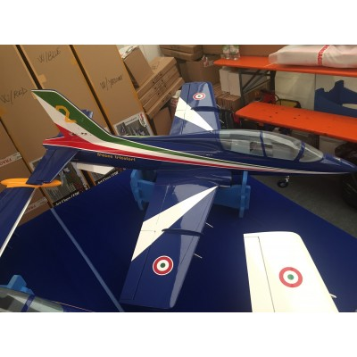 Mini MB 339 Frecce Tricolori - EDF 90mm 6S or Turbine P20