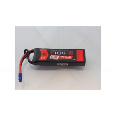 Indicatore LED F-TEK + 4S 3200mAh 40C LiPo w (EC3)