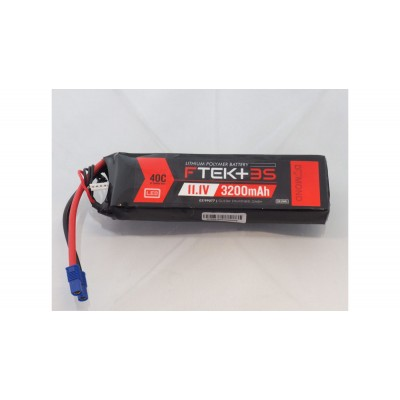 DYMOND F-TEK+ 3S 3200mAh (14,8V) 40C LiPo