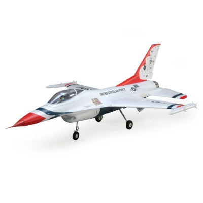 F-16 Thunderbirds 70mm EDF BNF Basic with AS3X and SAFE