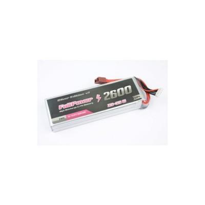 Batteria Lipo 2S 2600mAh 35C Silver V2