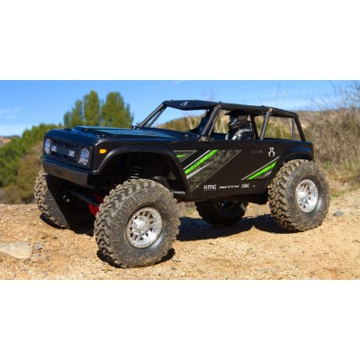 1/10 Wraith 1.9 4WD Brushed RTR, Black