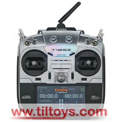 Futaba -  T18SZ 2.4Ghz Mode1 + rx R7008SB