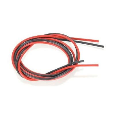 Cavo siliconico rosso-nero 2,0 mm² AWG14