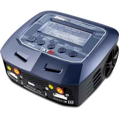 Caricabatterie D100 V2 2x100W 12/220V