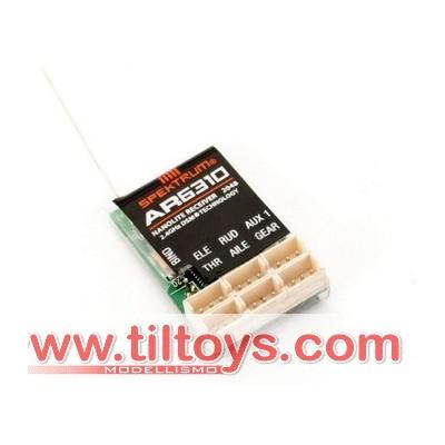 Spektrum -  Ricevente AR6310 DSMX Nanolite 6Ch Rx