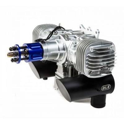 DLE-130 cc bicilindrico Motore a scoppio 2T BENZINA