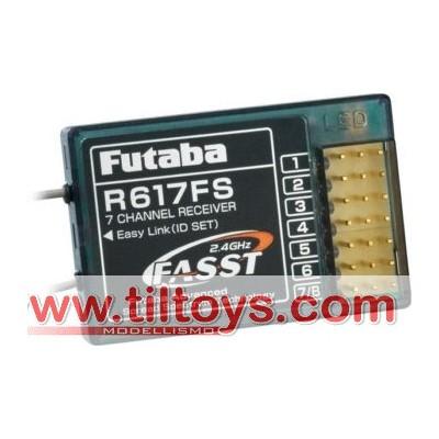Futaba -  Ricevente R617FS 2.4 Ghz FASST 7CH