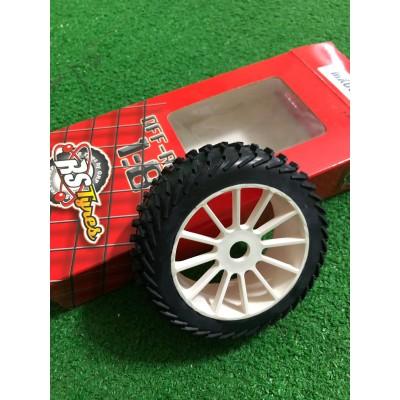 Cerchio e gomma 1/8 Buggy OffRoad