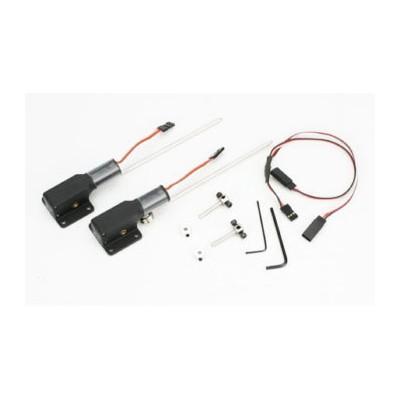 E-flite -  Coppia carrelli retrattili elettrici .10-.15