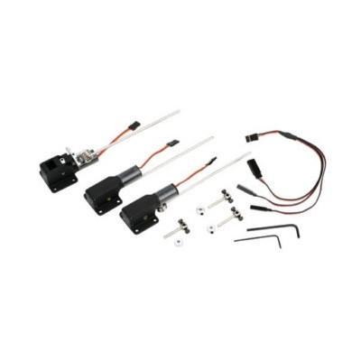 E-flite -  Terna carrelli retrattili elettrici .10-.15