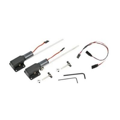 E-flite -  Coppia carrelli retrattili elettrici .15-.25