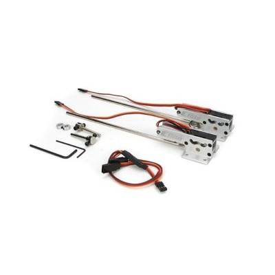E-flite -  Coppia carrelli retrattili elettrici .25-.46 85°