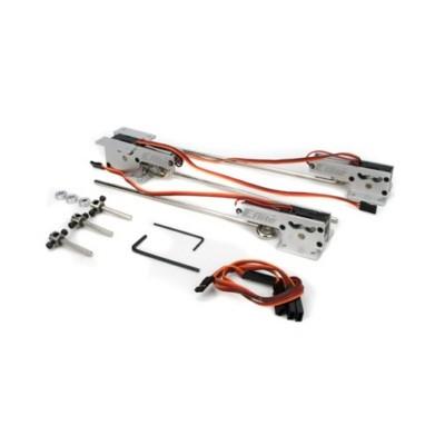 E-flite -  Terna carrelli retrattili elettrici .25-.46