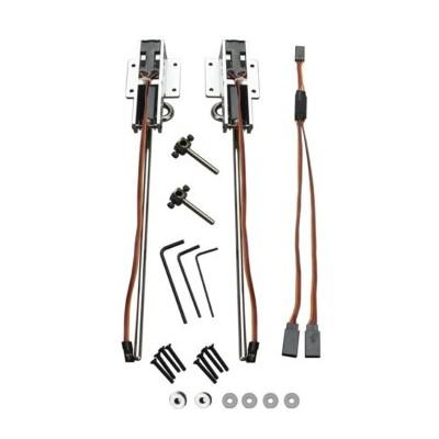 E-flite -  Coppia carrelli retrattili elettrici .60-.120 81°
