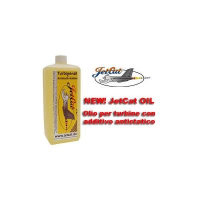JetCat -  Olio per turbine con additivo antistatico (1lt)