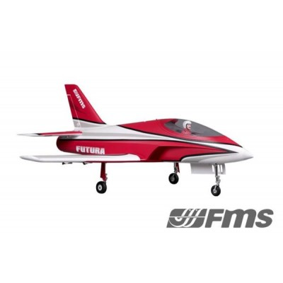 FMS -  Futura EDF 80mm Rosso