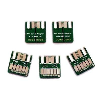 Circuiti adattatori per connettori MPX a 6 contatti