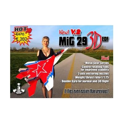 MIG 29 3D EDF - V2